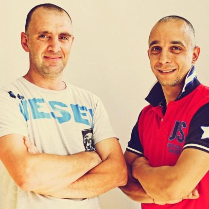 Nicola Domina e Angelo Cammarata