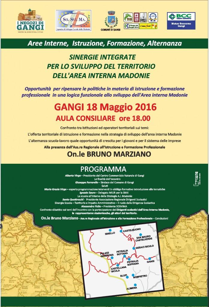 Gangi per lo sviluppo del territorio dell'area interna Madonie