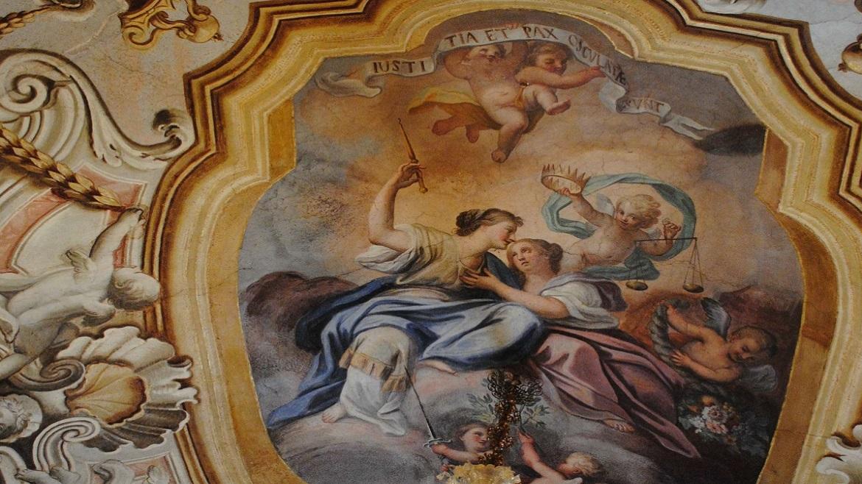 Affresco Palazzo Bongiorno