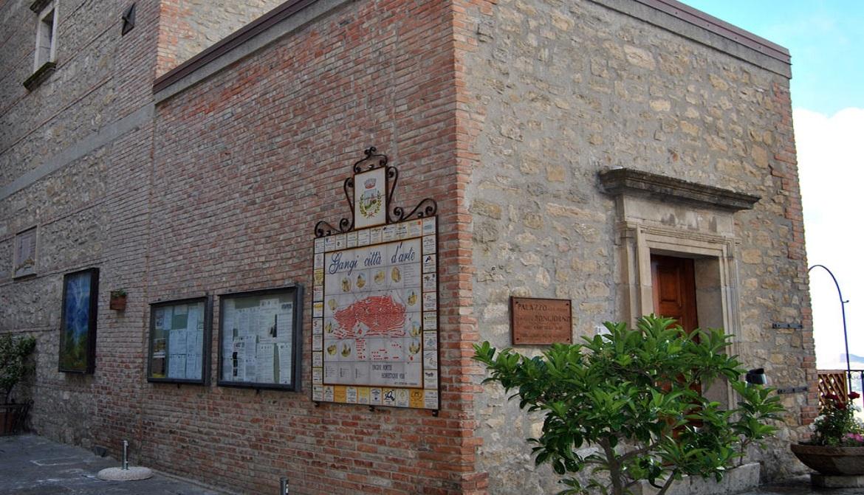 Palazzo Bongiorno, sede dell'Accademia degli Industriosi